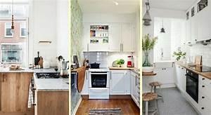 petite cuisine 15 bons conseils pour lamenager With meubler une petite cuisine 8 studio moderne et style