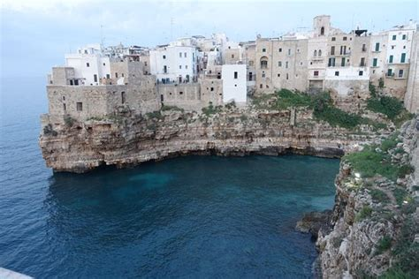Polignano A Mare In The Puglia Region Of Southern Italy