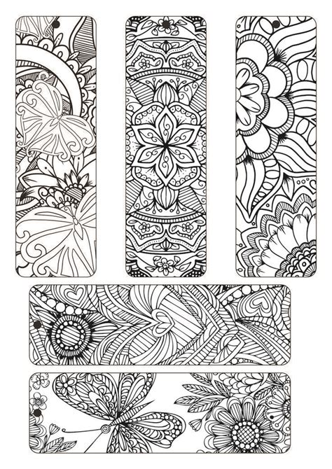 coloring bookmarks coloring bookmarks   printable bookmarks