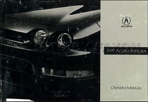 1997 Acura Integra Electrical Troubleshooting Manual Original