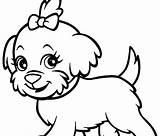 Poodle Coloring Pages Dog Printable Husky Bulldog Drawings English Line Dogs Drawing Realistic Puppy Cartoon Cowardly Clipart Sheet Clipartmag Getcolorings sketch template