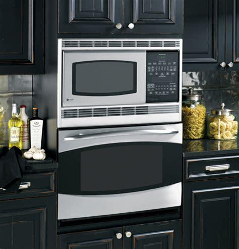 ge profile series  built  double microwaveconvection oven ptsrss ge appliances