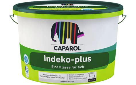 caparol wandfarbe indeko plus caparol indeko plus farbton mix wandfarbe innenfarbe kaufen weisserfuchs de profi