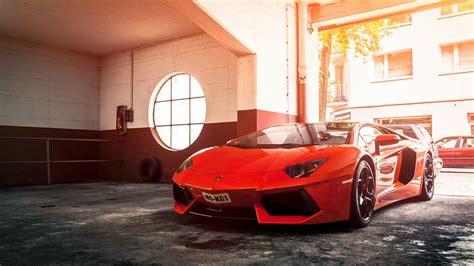 Lamborghini Aventador Red Wallpaper