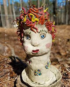 Eunice, Kiln, Folk, Sculpture, Planter, By, B, A
