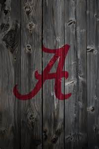 Alabama Crimson Tide Football Logo iPhone Wallpaper
