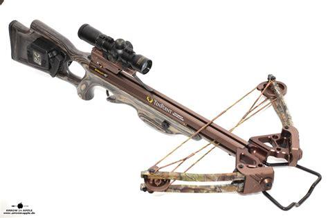 arm brust tenpoint stealth xlt crossbow at arrow in apple
