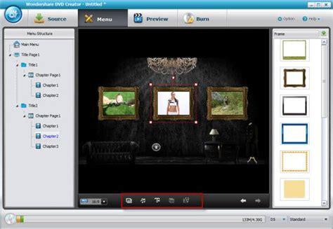 Wondershare Dvd Creator Menu Templates by Wondershare Dvd Creator User Guide