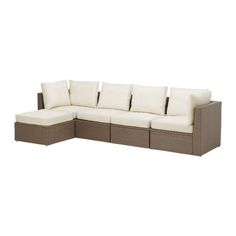 4er sofa arholma 4 seat sectional footstool outdoor ikea