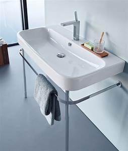 Duravit Happy D : happy d 2 console washbasin by duravit design sieger design ~ Orissabook.com Haus und Dekorationen