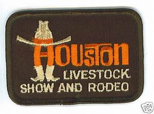 Old School Houston Livestock Show Rodeo Patch Molina39s