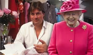 Queen's dress designer Stewart Parvin reveals secrets of