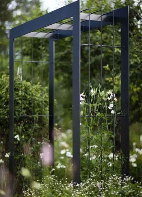 Metal Garden Trellis With Tree Of Design 9 stylish metal arbors to give your garden an edge