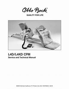L4d And L4kd Cpm Technical And Service Manual Sept 2005
