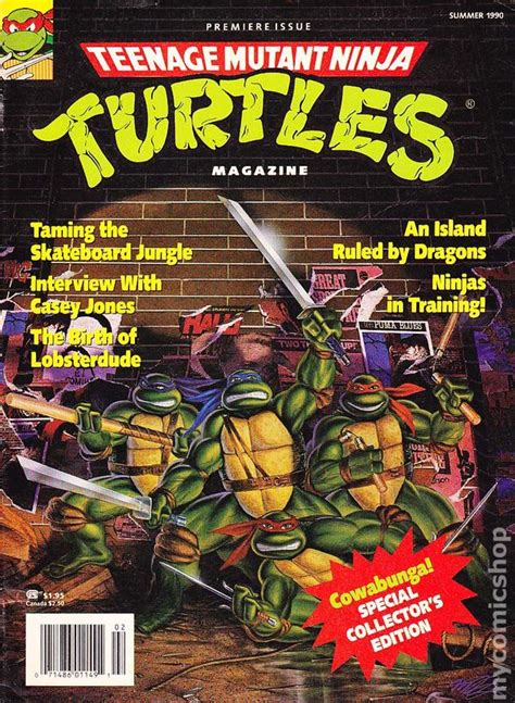 teenage mutant ninja turtles magazine  comic books