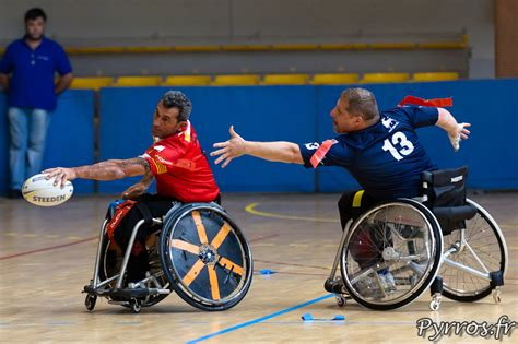 rugby en fauteuil roulant paralympique