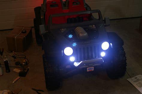 Modified Power Wheels Jeep Hurricane Groundfx