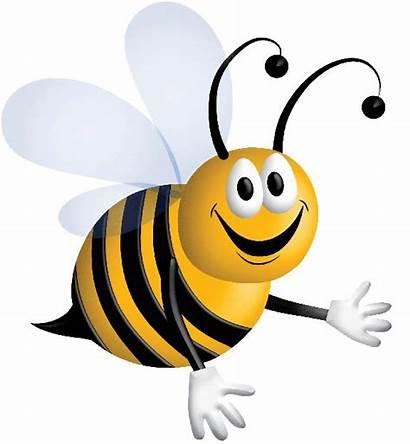 Clipart Bee Bees Bumble Clip Honey Cartoon