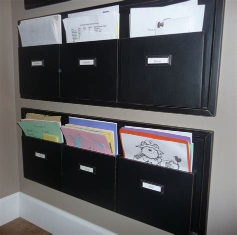 Office Wall Organizer by The 25 Best Wall File Organizer Ideas On Mail