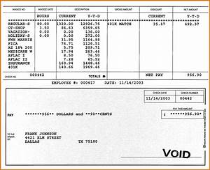 8 check stub template authorizationlettersorg With paycheck stub template in microsoft word