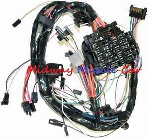 Dash Wiring Harness With Fuse Block 79 80 81 Chevy Camaro
