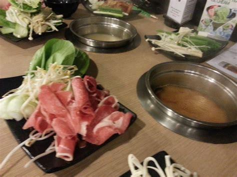 all you can eat shabu shabu and sushi at the shabuhouse brisbane