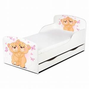Kleinkind Bett 70x140 : pricerighthome teddyb r umarmung kleinkind bett mit unterbett lager und matratze ebay ~ Whattoseeinmadrid.com Haus und Dekorationen