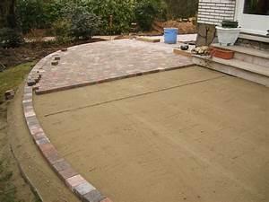 Pose Terrasse Bois Sur Gravier : poser des dalles sur du sable ~ Premium-room.com Idées de Décoration