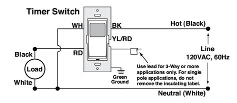 Single Pole Switch And Schematic Switched Wiring by Electrical How Do I Install A Leviton Light Switch Timer