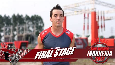 sasuke ninja warrior indonesia drew drechsel  final