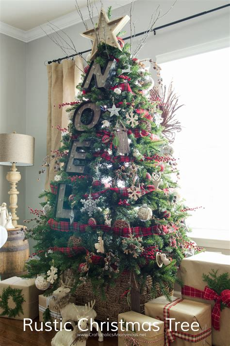 rustic christmas trees craftaholics anonymous 174 rustic marquee christmas tree