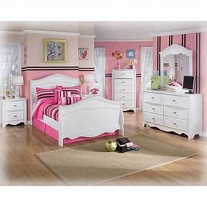 B188 26 Ashley Furniture Exquisite White Bedroom Bedroom