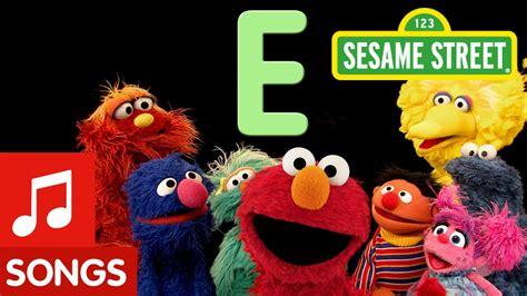elmo letter of the day song sesame letter e letter of the day