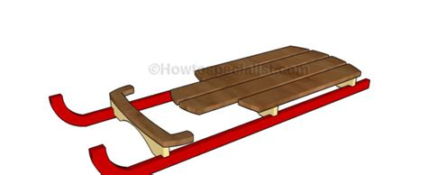 wood sled deck plans wooden sled plans howtospecialist how to build step