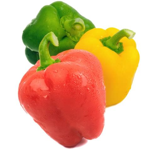 peppers bell stop light green red yellow
