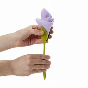 Porte Serviette En Papier : fleur porte serviette de papier bloom x4 cadeau maestro ~ Teatrodelosmanantiales.com Idées de Décoration