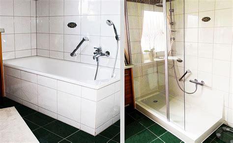 Badewanne Umbauen Zur Dusche by Erstaunlich Badewanne Zur Dusche Umbauen F 252 R In Umwandeln