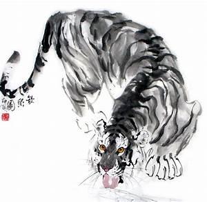 Chinese White Tiger Art