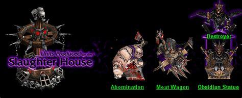 warcraft iii undead units