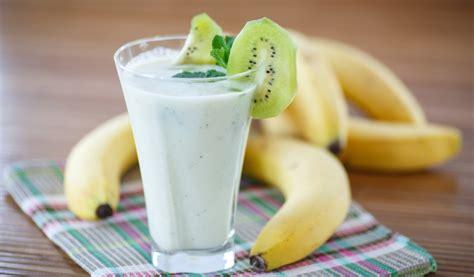 Receptes.lv - Banānu - kivi dzēriens