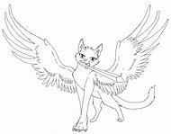 Winged Warrior Cats Coloring Pages