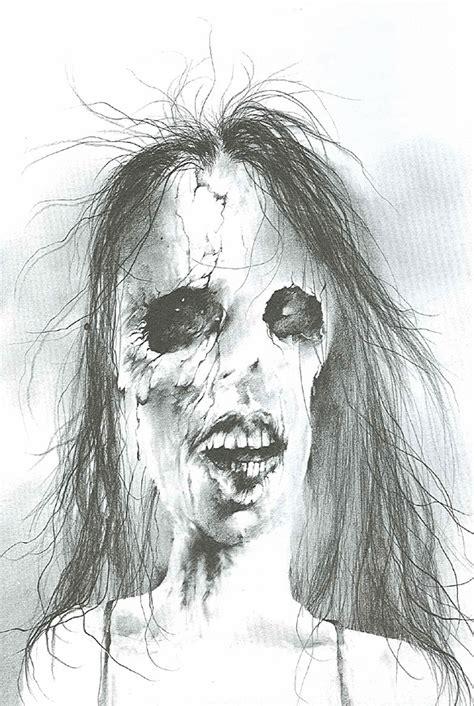 scary stories     dark  terrifying childrens illustrations  stephen gammell