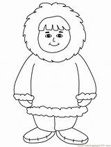 Eskimo Coloring Pages Inuit Boy Printable Countries Craft Preschool Crafts Winter Coloringpagebook Igloo Template Arctic Worksheets Sheets Kindergarten Toddler Coloringpages101 sketch template