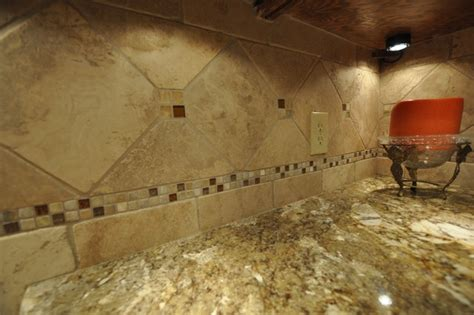 is travertine tile for kitchens granite countertops and tile backsplash ideas eclectic 9023