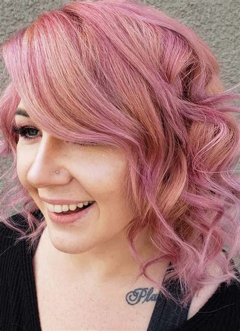 Adorable Dusty Rose Hair Colors & Beauty Ideas in 2018