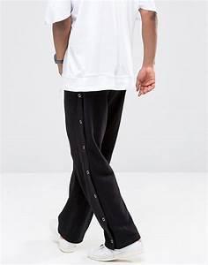 Pantalon Avec Bouton Sur Le Cote : survetement pression cote ~ Melissatoandfro.com Idées de Décoration