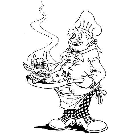 dessin de cuisine à imprimer coloriage cuisinier a imprimer gratuit