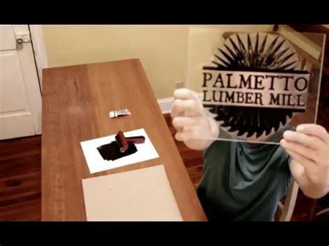 ink  large acrylic stamp youtube