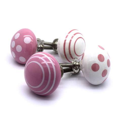 Ceramic Bedroom Door Knobs by Pink White Ceramic Cupboard Door Knobs