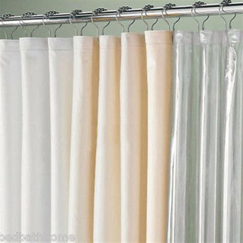 Hookless Fabric Shower Curtain With Window by Extra Long Extra Wide Shower Curtain Liner Best